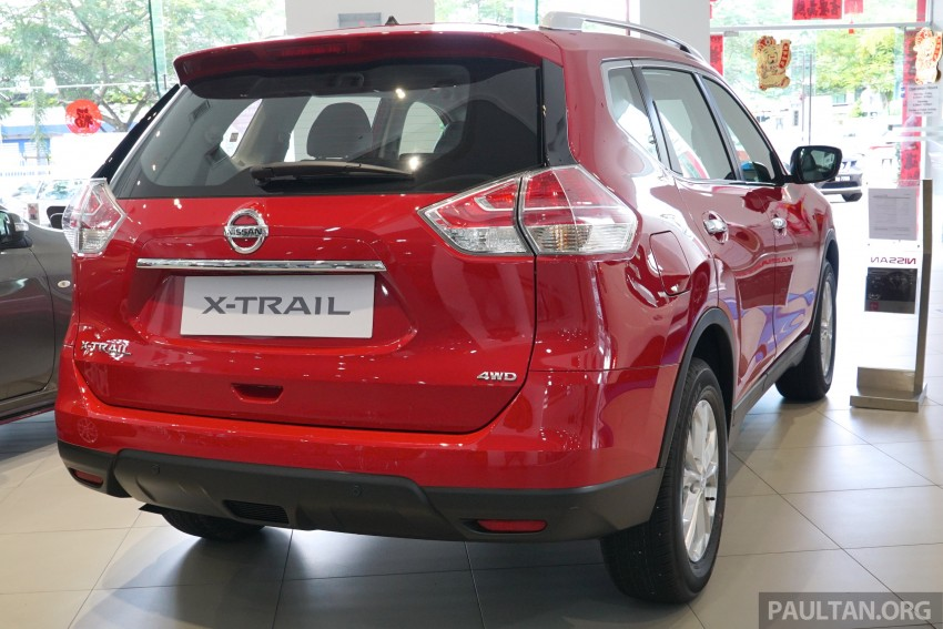 Nissan X-Trail – now available in Flaming Red for CNY Image #432836