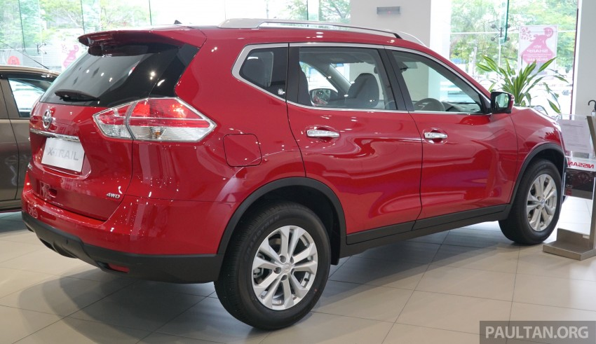 Nissan X-Trail – now available in Flaming Red for CNY Image #432838