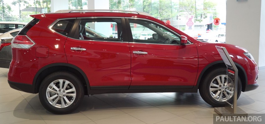 Nissan X-Trail – now available in Flaming Red for CNY Image #432839