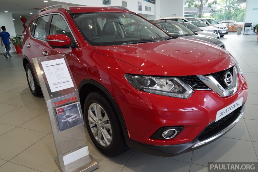 Nissan X-Trail – now available in Flaming Red for CNY Image #432840