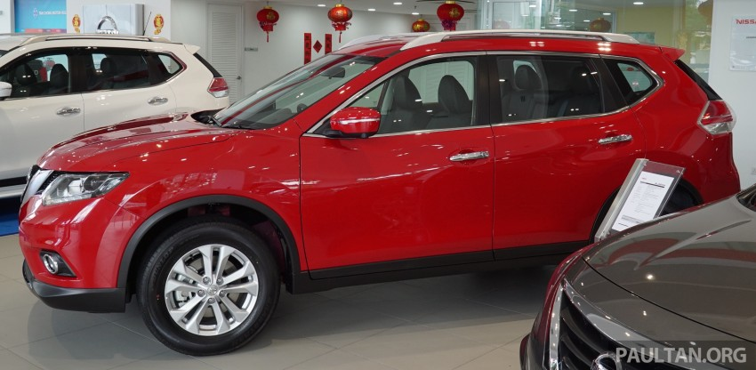 Nissan X-Trail – now available in Flaming Red for CNY Image #432841