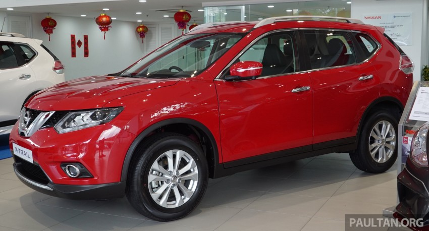 Nissan X-Trail – now available in Flaming Red for CNY Image #432842