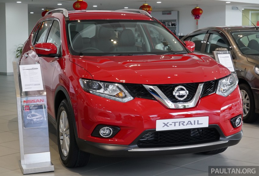 Nissan X-Trail – now available in Flaming Red for CNY Image #432845