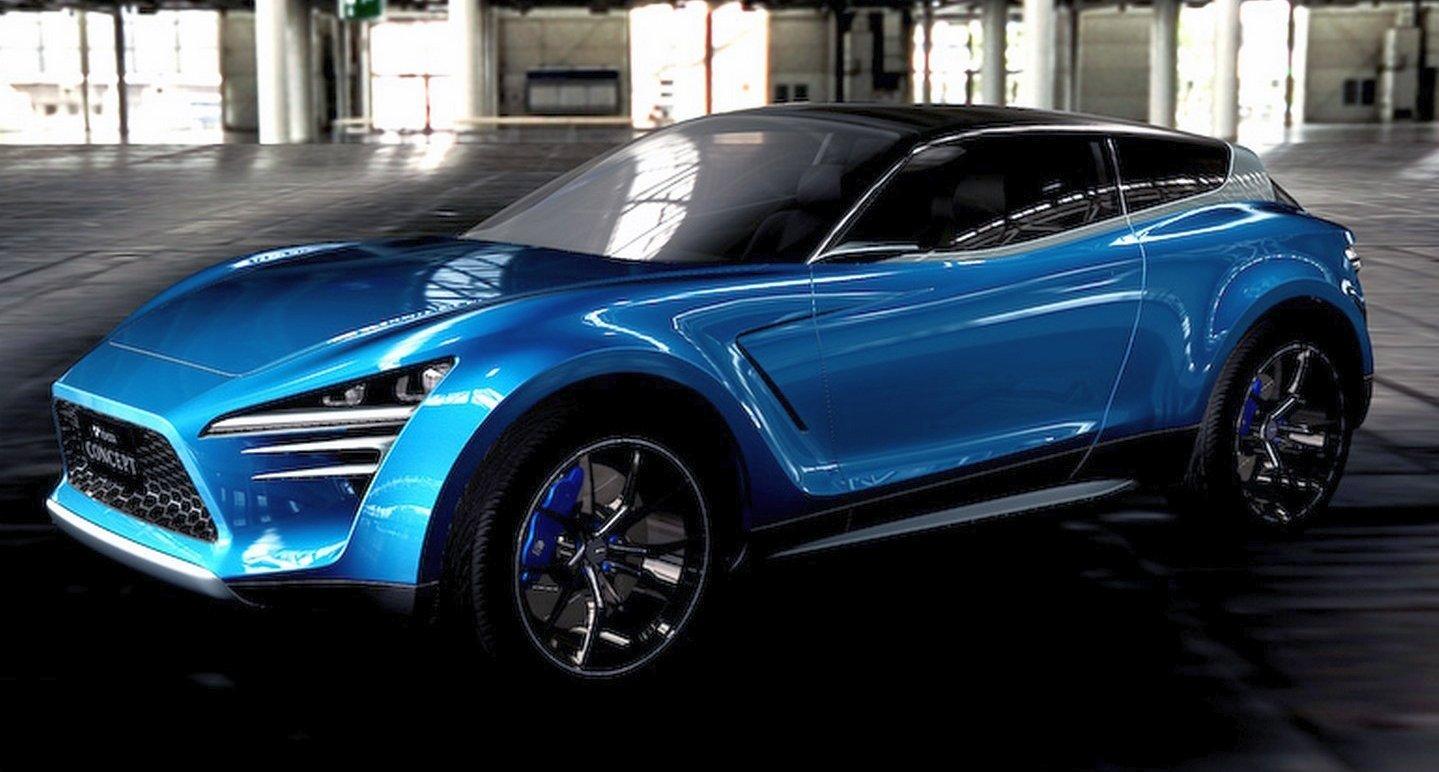 2018 Toyota Rav4 >> Toyota ViRA – a rakish Vitz meets RAV4 concept Image 426723