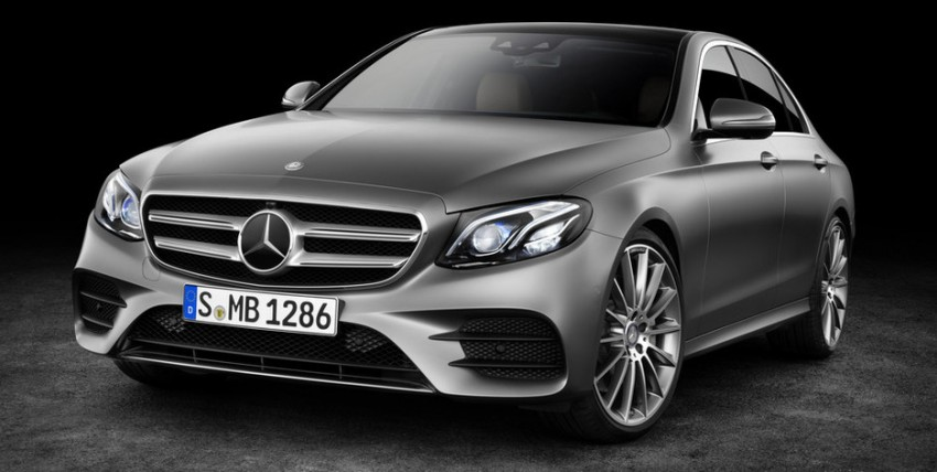 W213 Mercedes-Benz E-Class: first photos leaked Image #424543