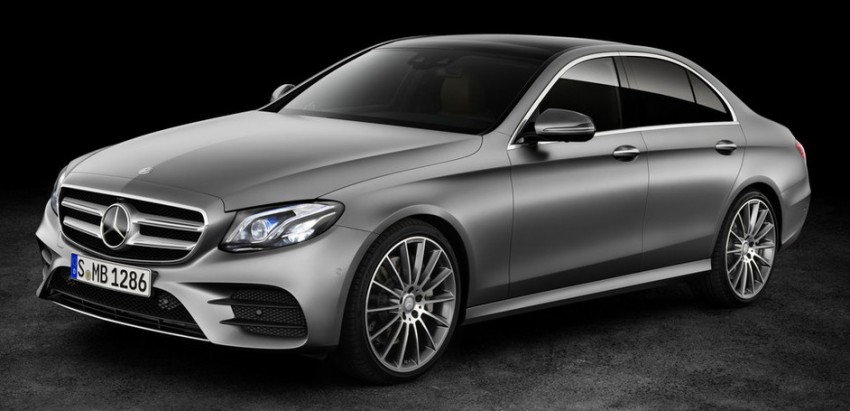 W213 Mercedes-Benz E-Class: first photos leaked Image #424544