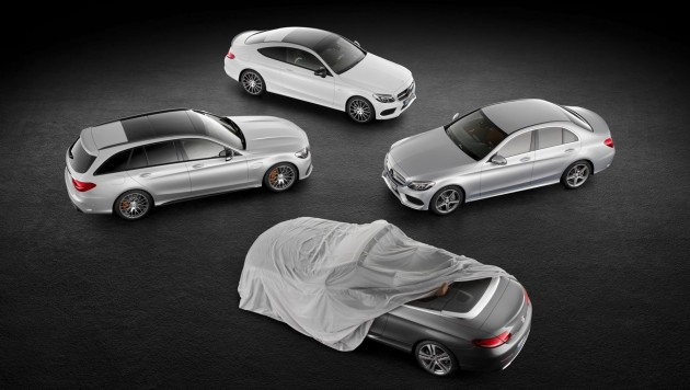 Mercedes-Benz W205 C-Class Cabriolet teaser