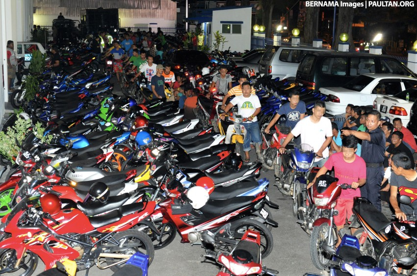 Police to eradicate mat rempit menace once and for all Image #445581