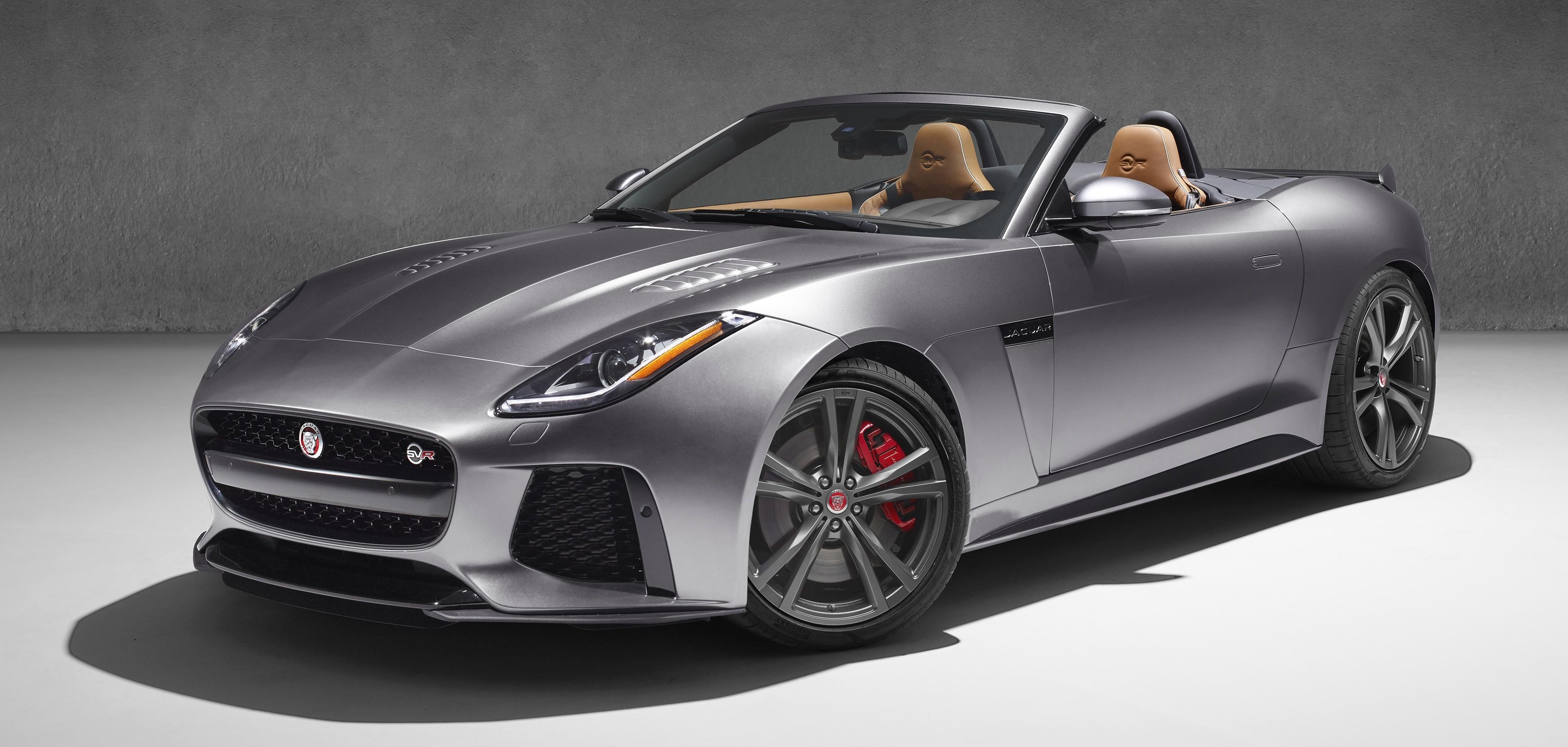 Jaguar F-Type SVR 2016 – 567 hp, 700 Nm, 321 km/j Paul Tan - Image ...