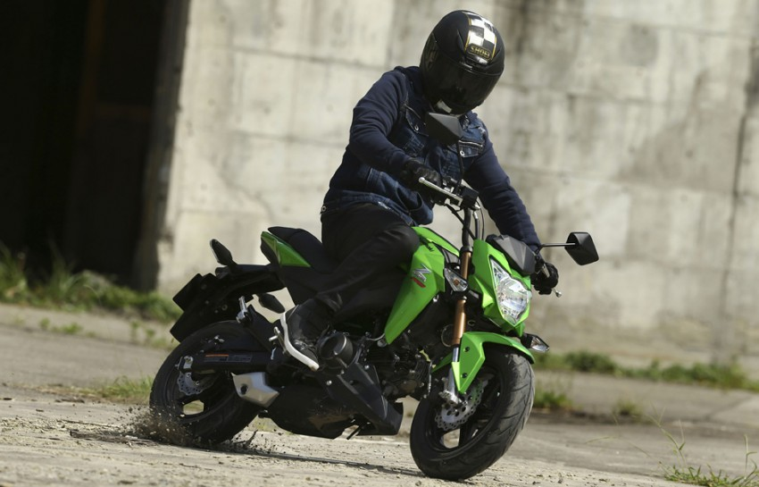 2016 Kawasaki Z125 Pro EFI launched in Indonesia Image #447844