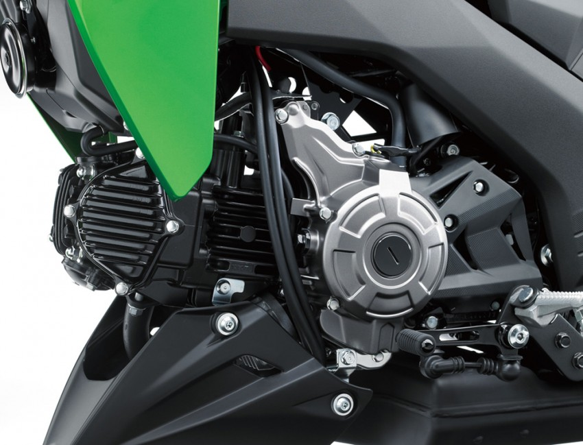 2016 Kawasaki Z125 Pro EFI launched in Indonesia Image #447846
