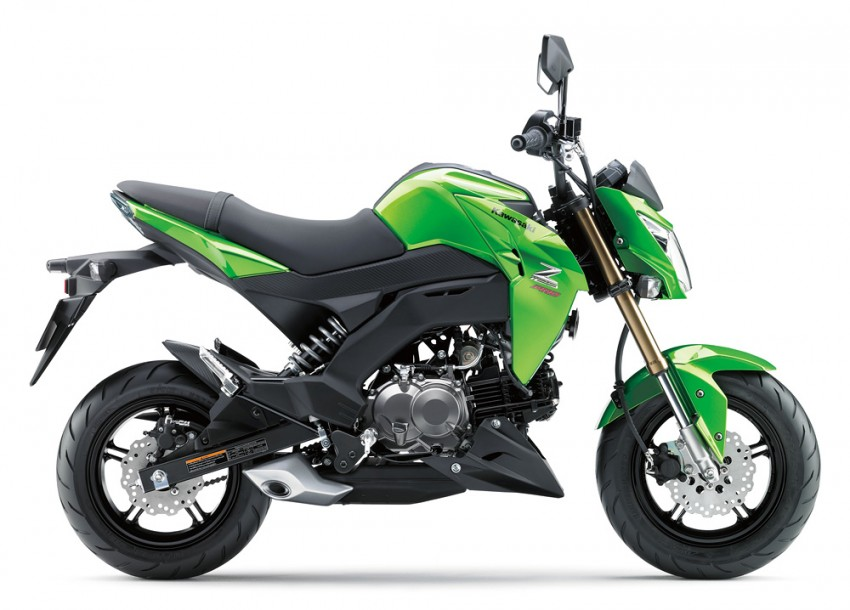 2016 Kawasaki Z125 Pro EFI launched in Indonesia Image #447839