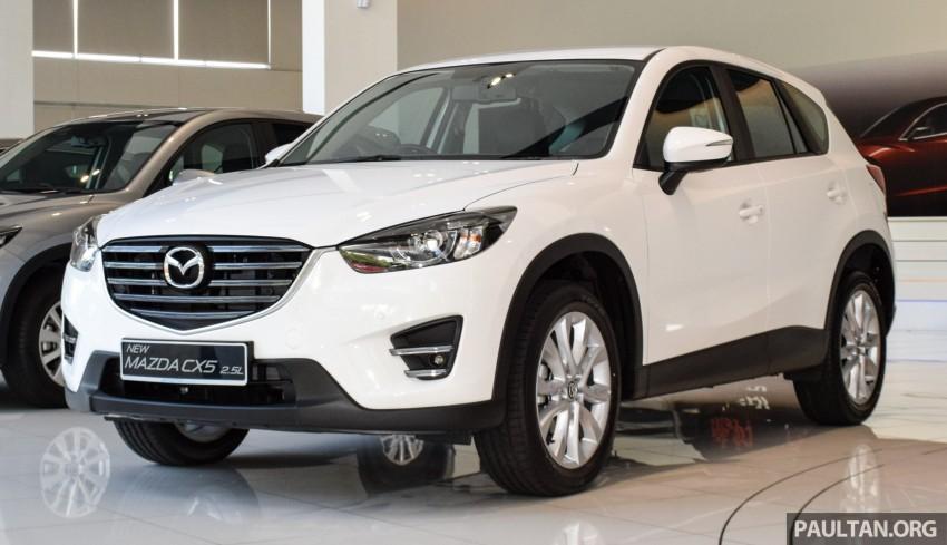 GALERI: Mazda CX-5 2016 facelift 2.5L 2WD CKD Image #449586