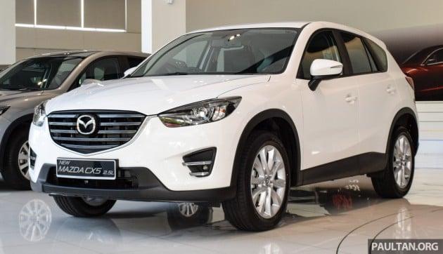 2016 Mazda CX-5 2.5L 2WD facelift 1