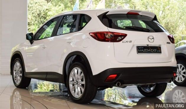 2016 Mazda CX-5 2.5L 2WD facelift 4
