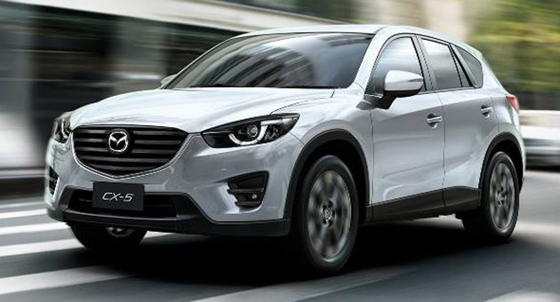 2016 Mazda Cx 5 Facelift Launched In Thailand Now With I Activsense 2 5l Skyactiv G Variant