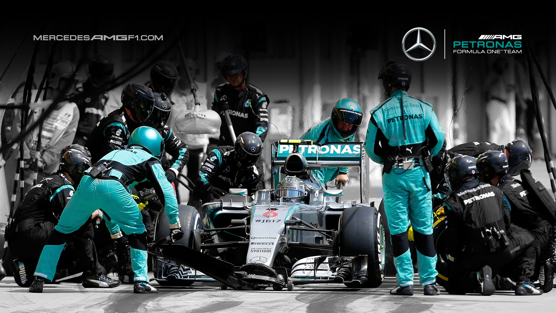 Mercedes w08 f1 wallpaper 8