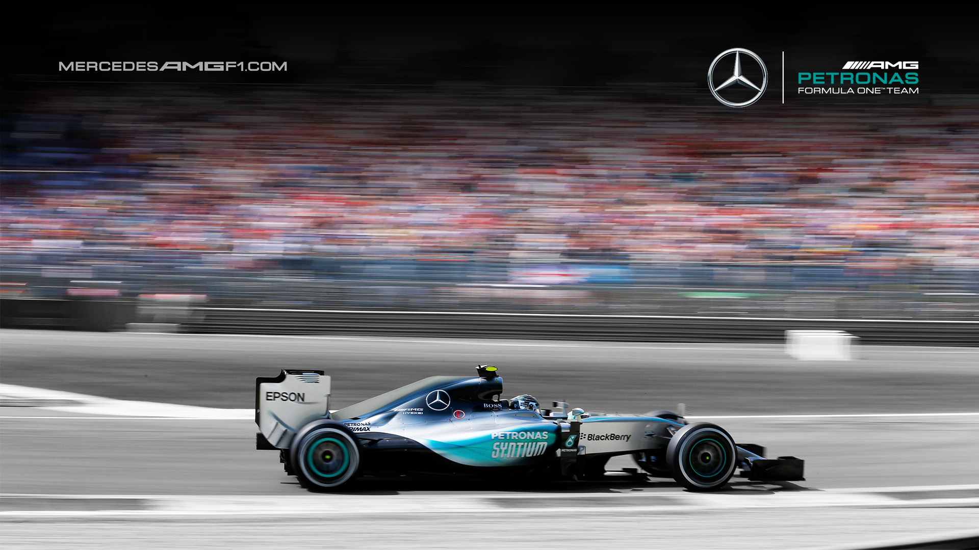 Mercedes amg petronas w08 wallpaper 6