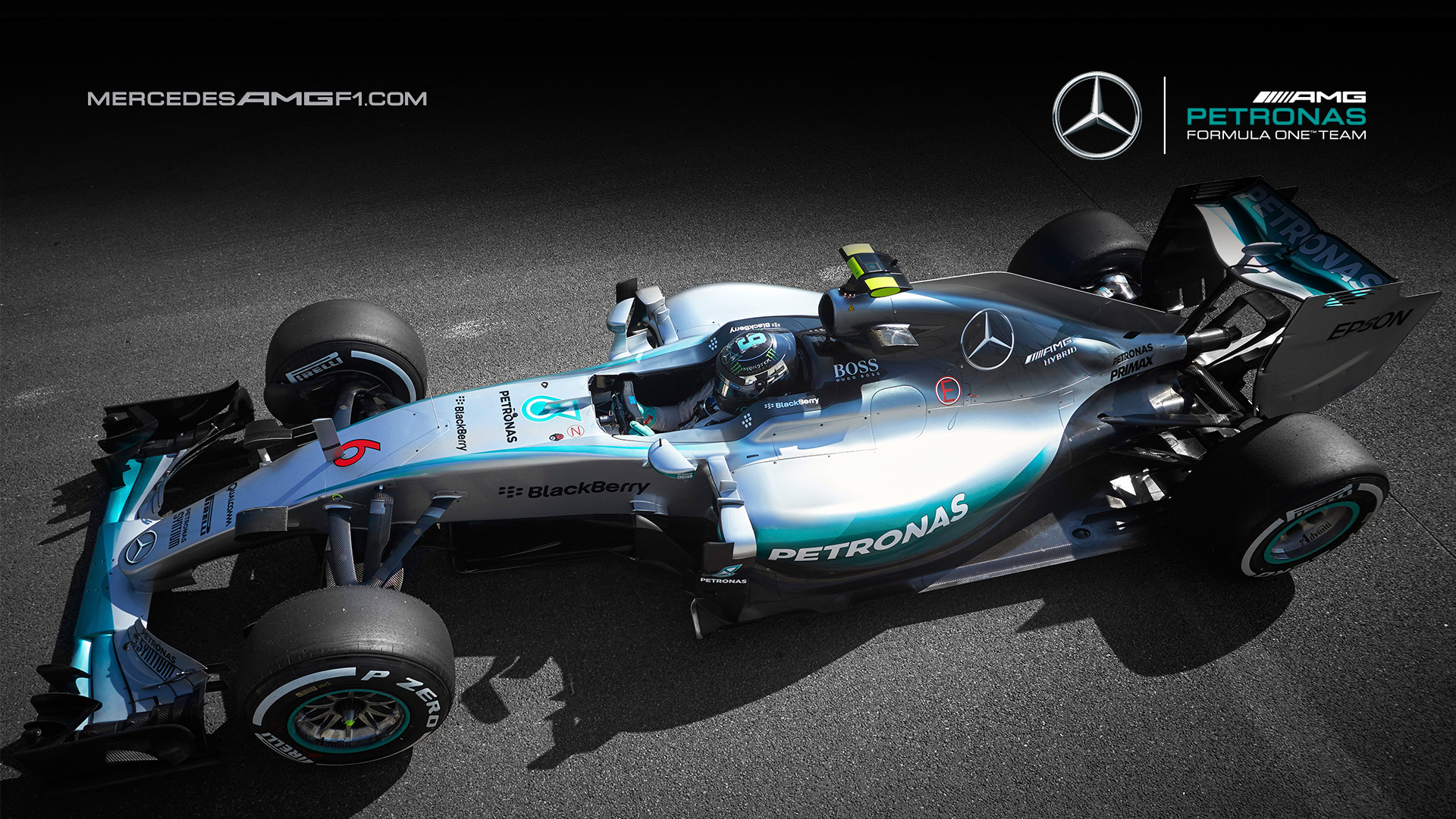 Mercedes f1 w08 wallpaper 11
