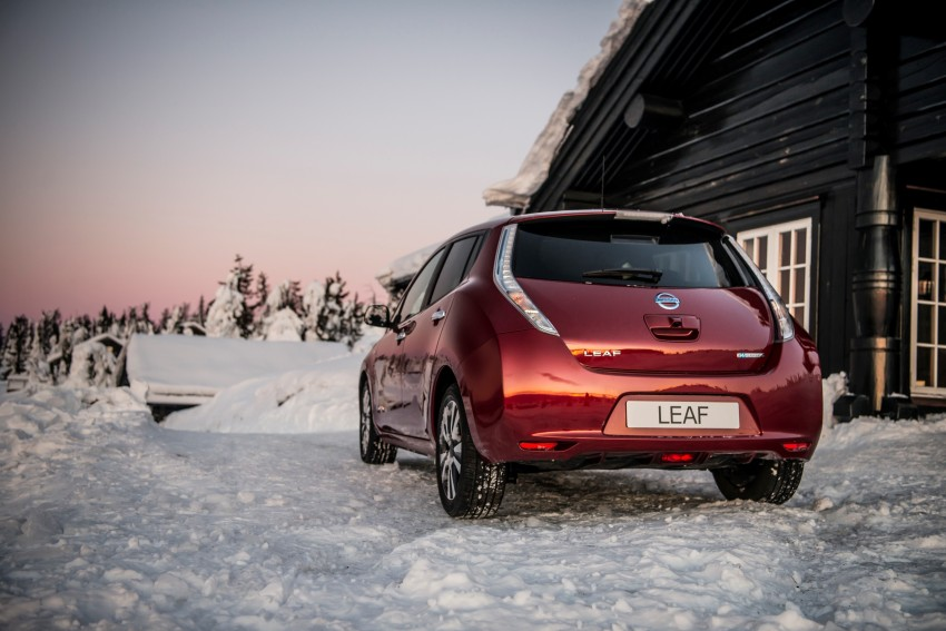 Nissan Leaf 30 kWh update – range now up to 250 km Image #443193