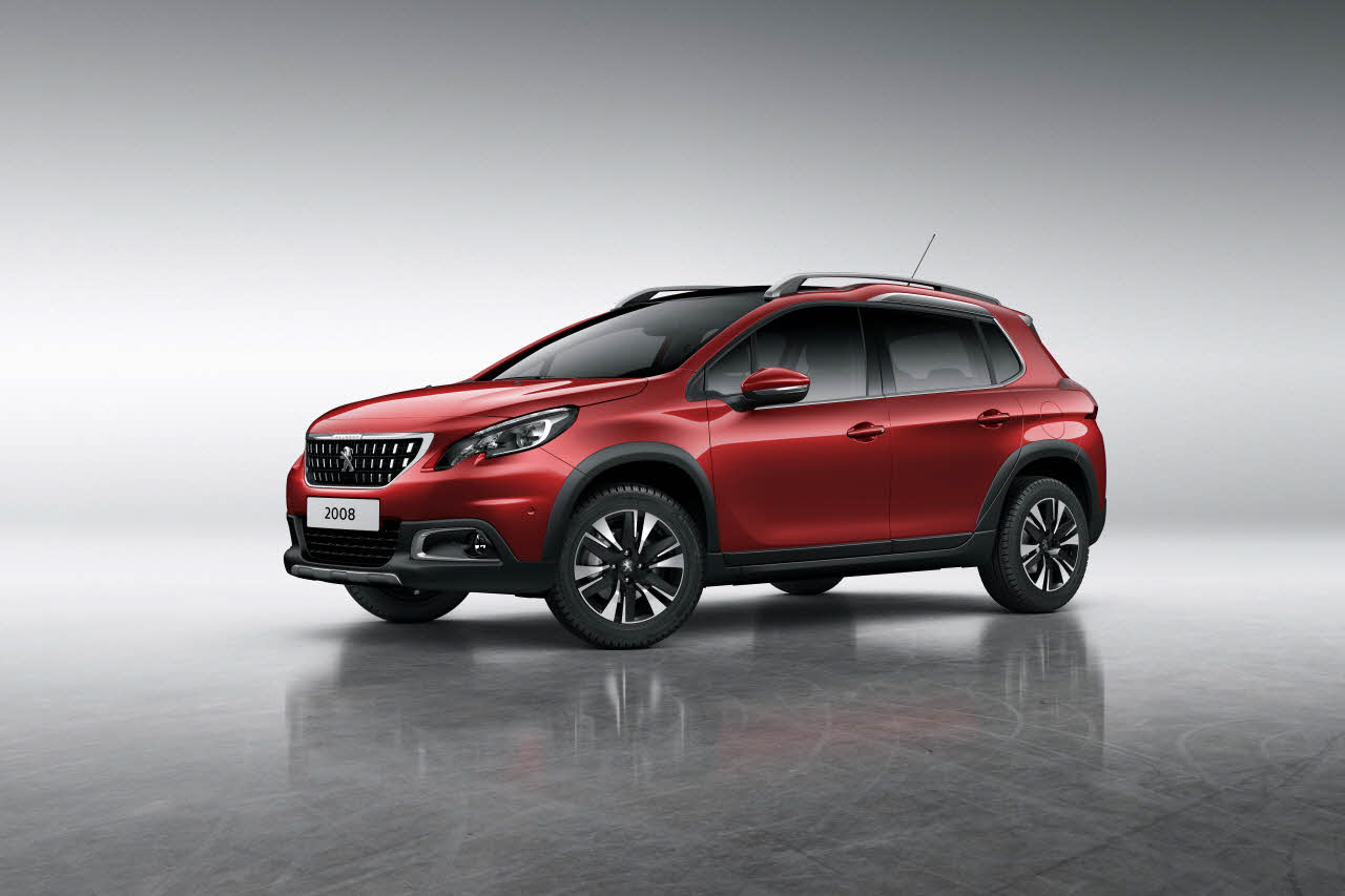 peugeot 2008 facelift debuts new engines gt line image. Black Bedroom Furniture Sets. Home Design Ideas