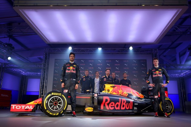 2016 Red Bull Puma F1 launch - 13
