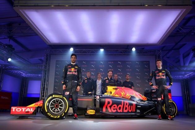 2016 Red Bull Puma F1 launch - 13