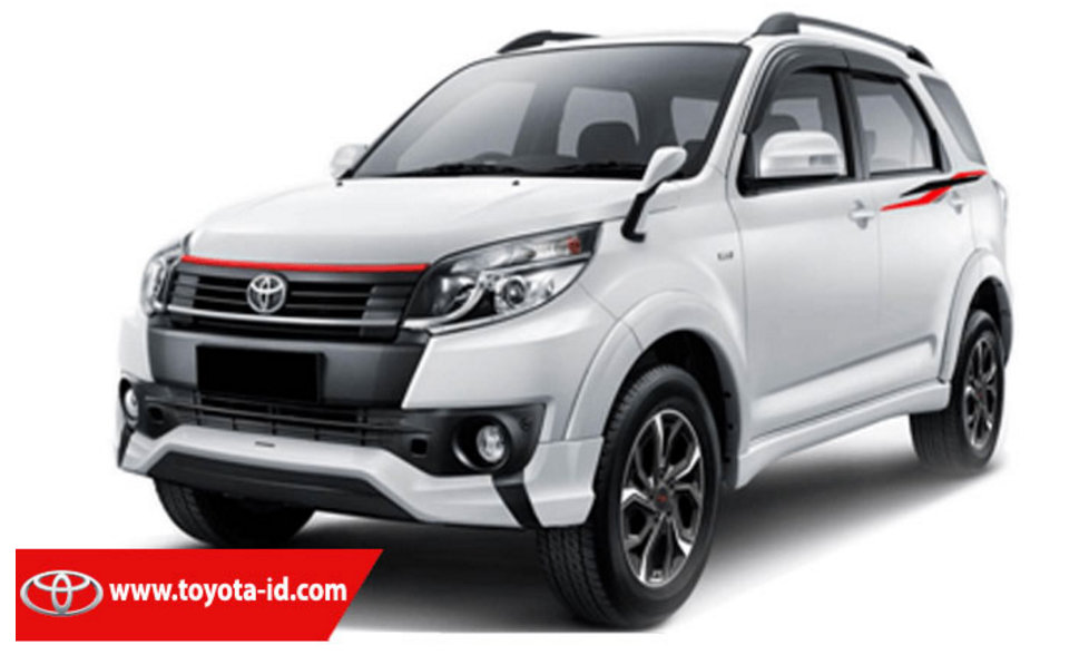2016 Toyota Rush Updated In Indonesia 7 Seater Trd
