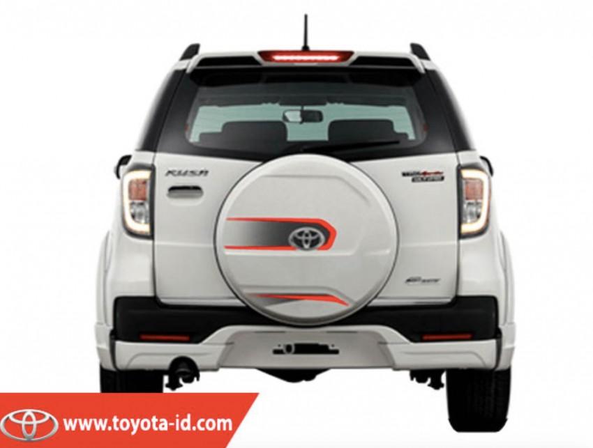 Toyota Rush 7 2016 dilancarkan di Indonesia Image #450426