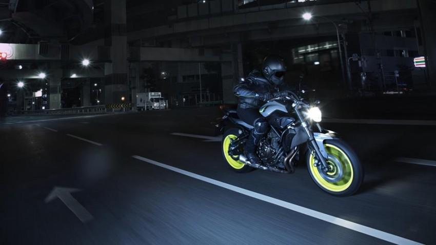 """2016 Yamaha MT-07 """"Moto Cage"""" Night Fluo revealed Image #447288"""