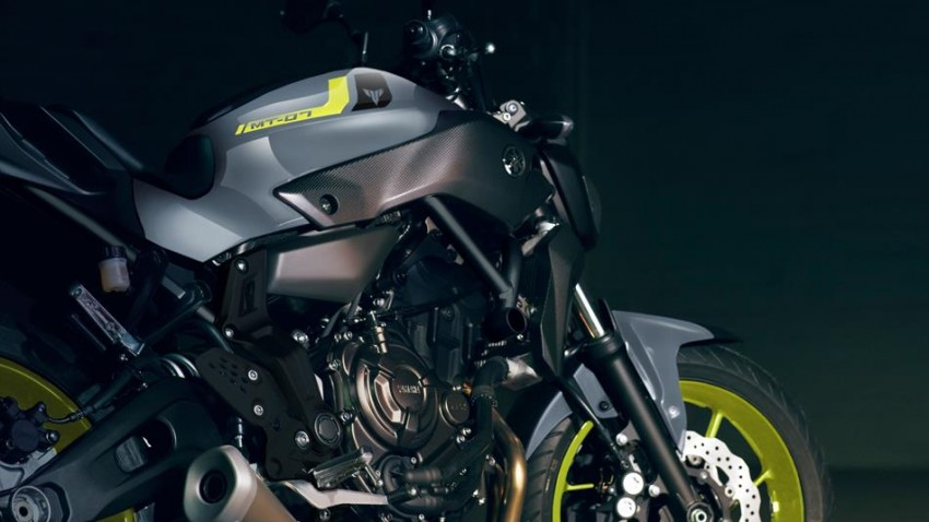 "2016 Yamaha MT-07 ""Moto Cage"" Night Fluo revealed Image #447311"