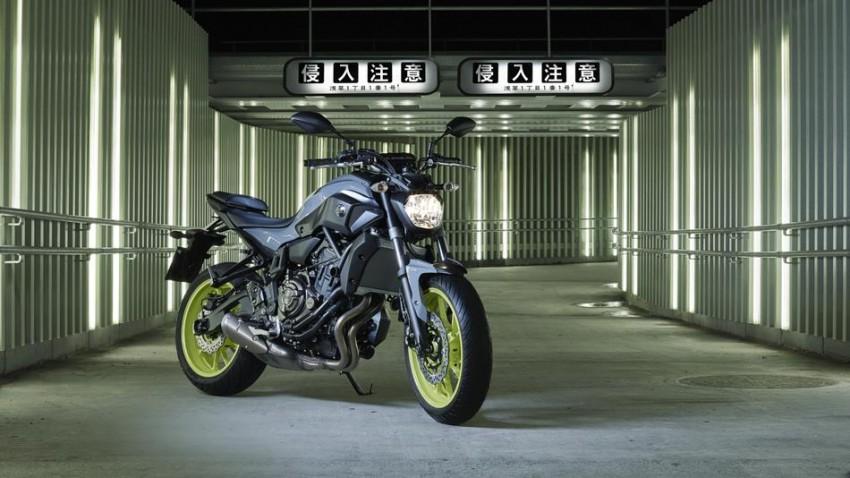 """2016 Yamaha MT-07 """"Moto Cage"""" Night Fluo revealed Image #447289"""