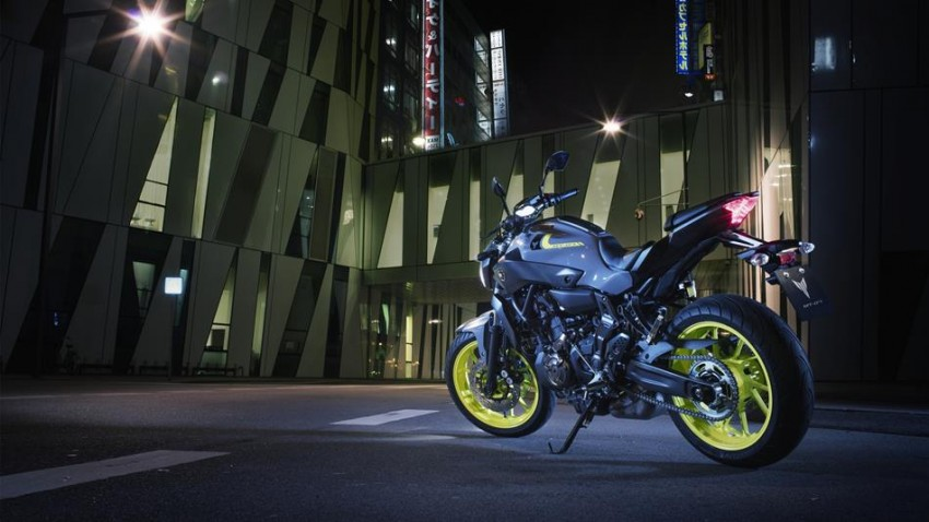"2016 Yamaha MT-07 ""Moto Cage"" Night Fluo revealed Image #447291"
