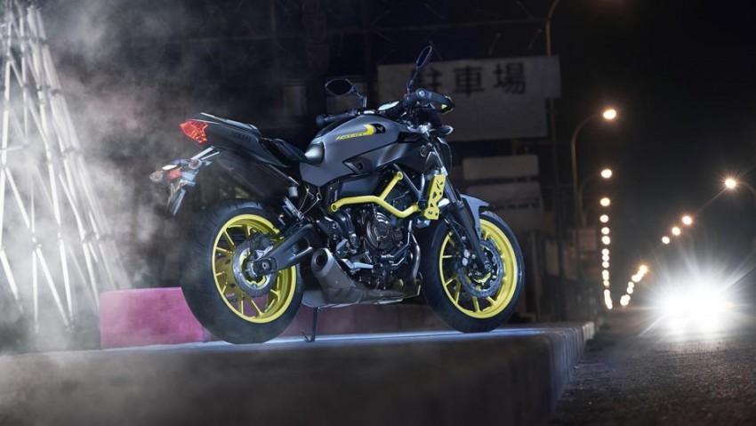 """2016 Yamaha MT-07 """"Moto Cage"""" Night Fluo revealed Image #447328"""