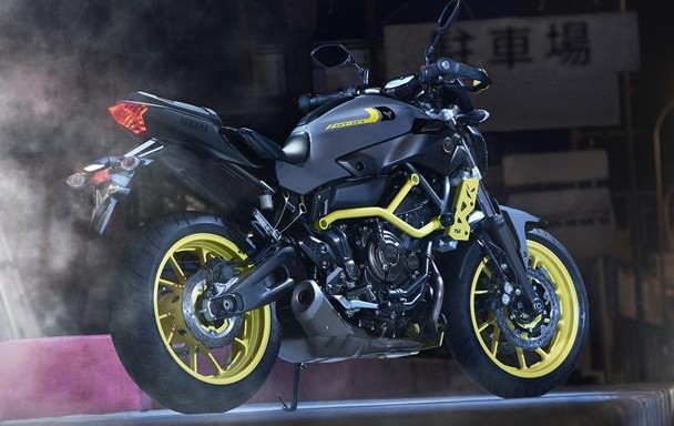2016 yamaha mt 07 moto cage night fluo revealed. Black Bedroom Furniture Sets. Home Design Ideas
