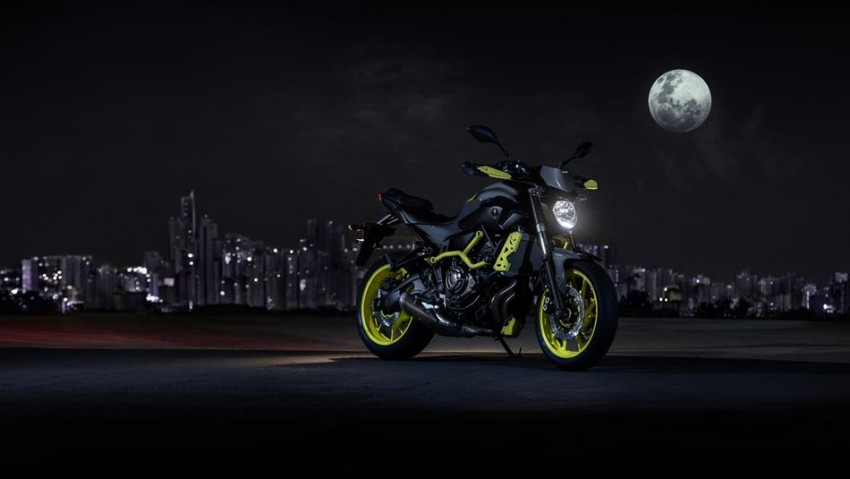 "2016 Yamaha MT-07 ""Moto Cage"" Night Fluo revealed Image #447330"