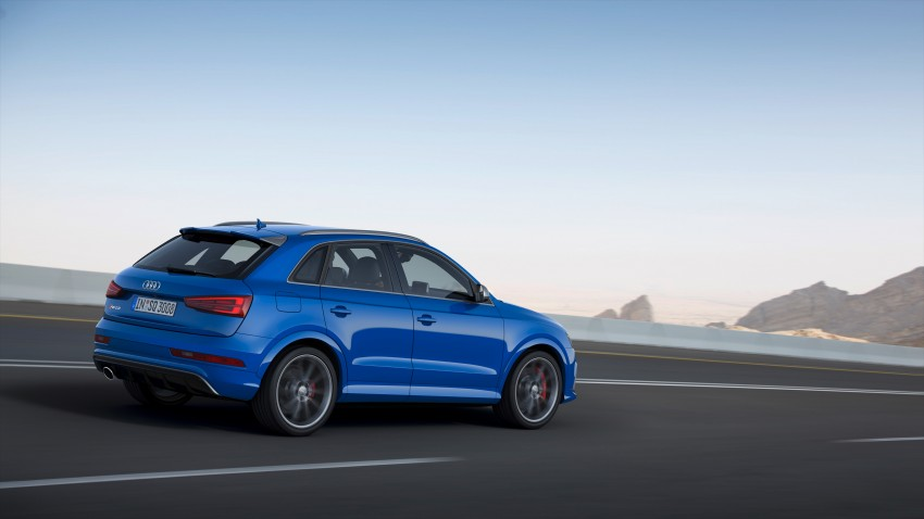 Audi RS Q3 performance unleashed – 367 hp/465 Nm Image #438547
