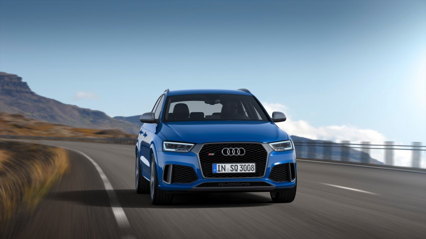 Audi RS Q3 performance unleashed – 367 hp/465 Nm Image #438549