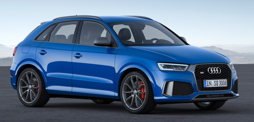 Audi RS Q3 performance unleashed – 367 hp/465 Nm Image #438561