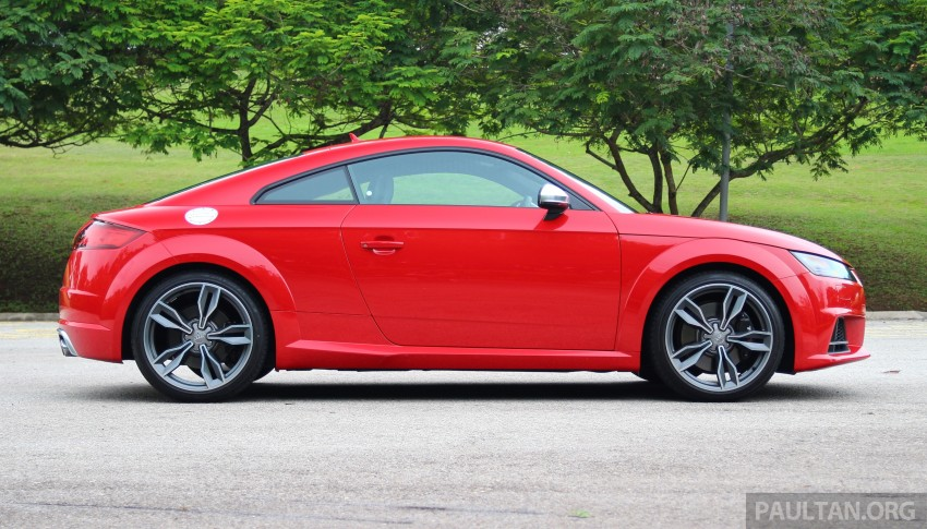 DRIVEN: Audi TTS – style now matched by substance? Image 444659