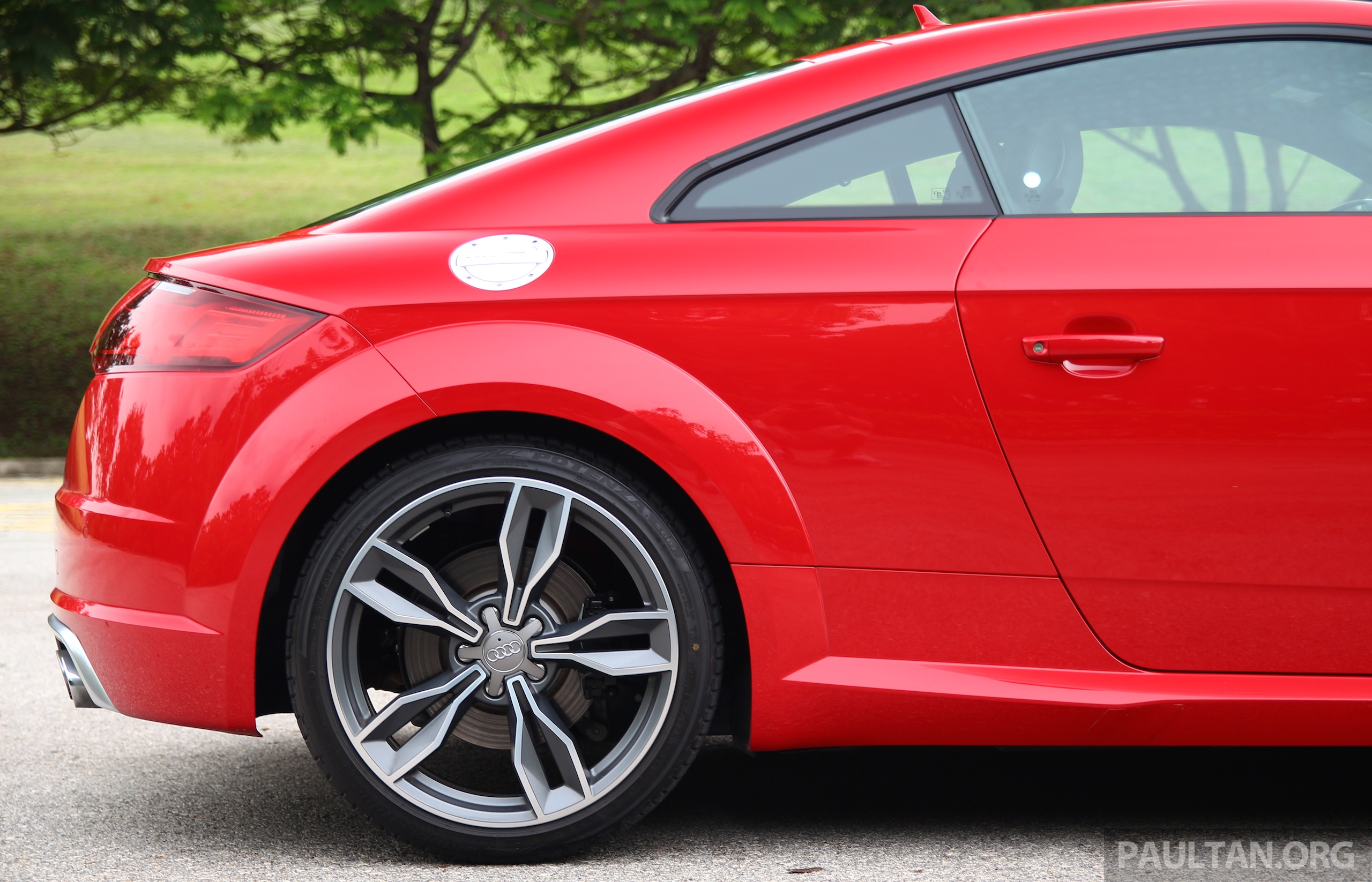 Driven Audi Tts Style Now Matched By Substance Paul