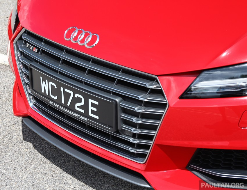 DRIVEN: Audi TTS – style now matched by substance? Image ...
