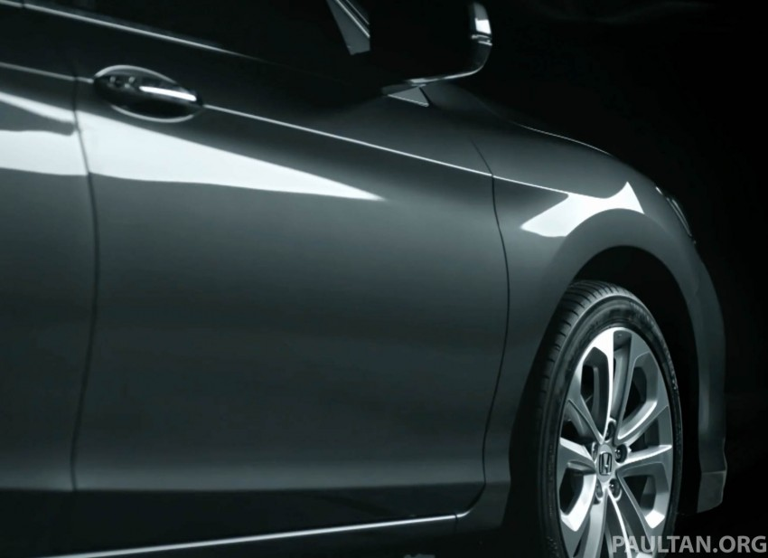2016 Honda Accord facelift teased for Thailand debut Image #440670