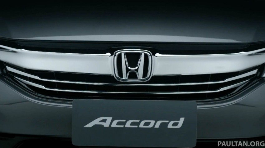 2016 Honda Accord facelift teased for Thailand debut Image #440662