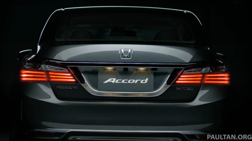2016 Honda Accord facelift teased for Thailand debut Image #440663