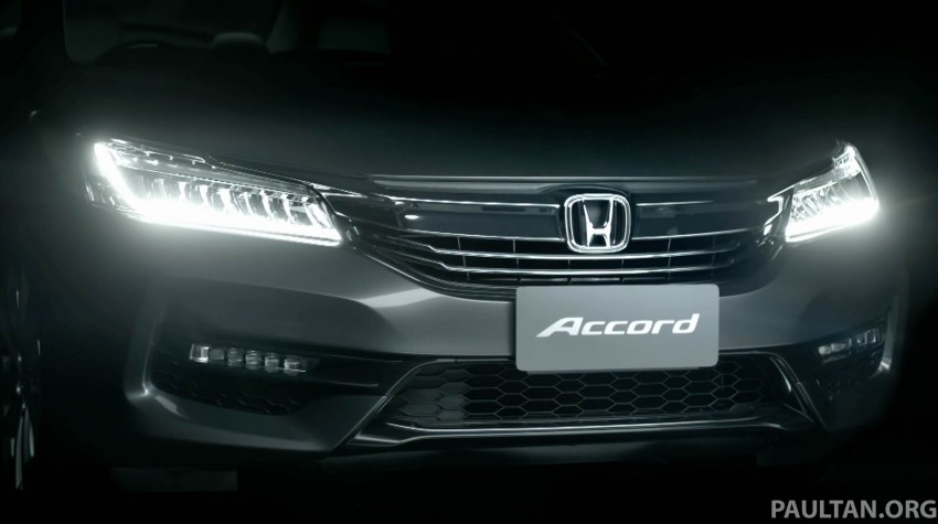 2016 Honda Accord facelift teased for Thailand debut Image #440664
