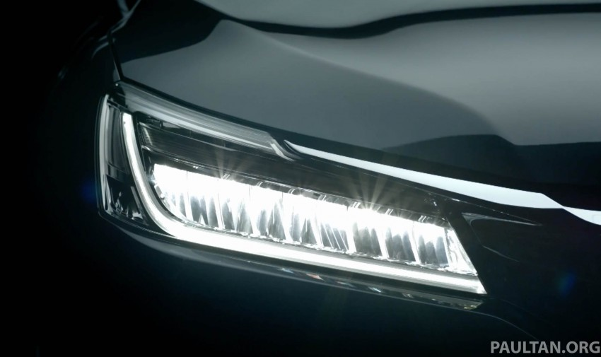 2016 Honda Accord facelift teased for Thailand debut Image #440665