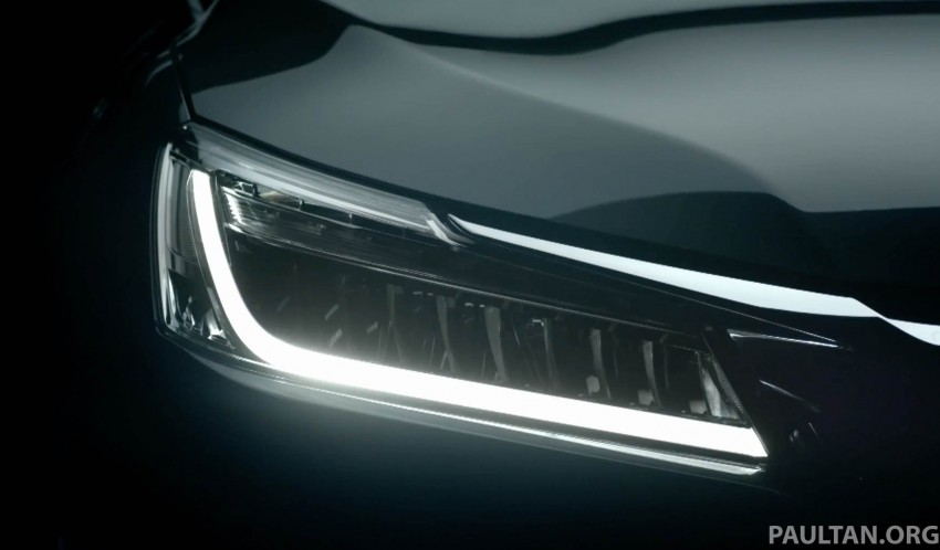 2016 Honda Accord facelift teased for Thailand debut Image #440666