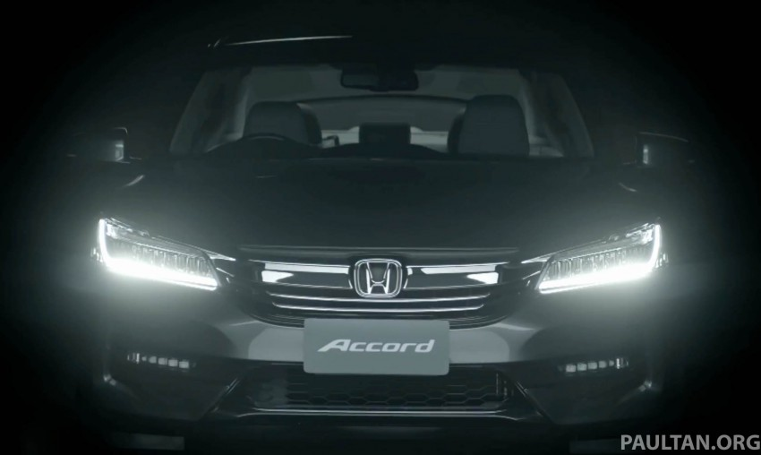 2016 Honda Accord facelift teased for Thailand debut Image #440667