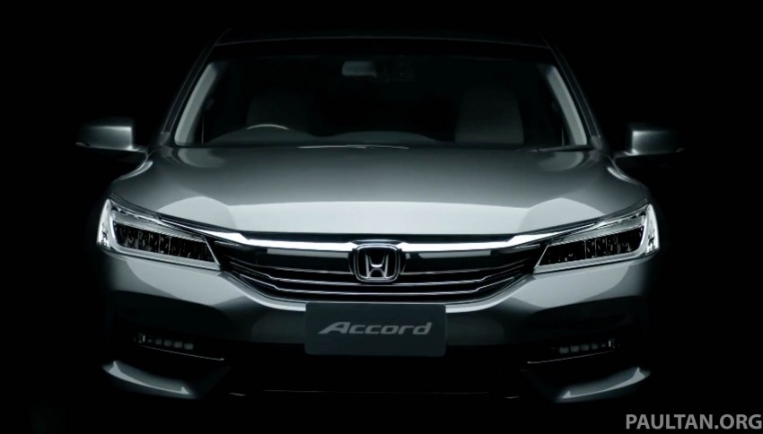 2016 Honda Accord facelift teased for Thailand debut Image #440668